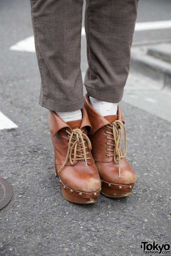 Jeffrey Campbell platform boots