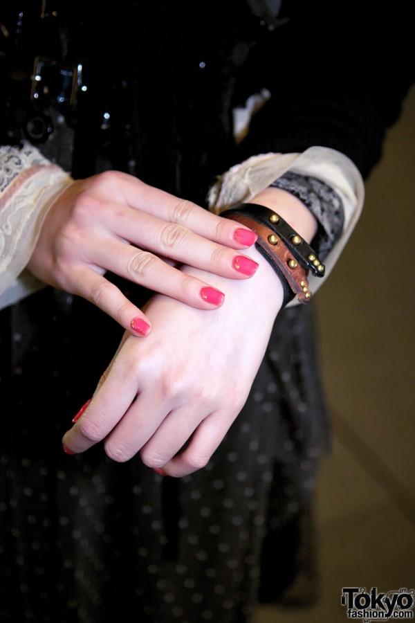 Qosmos Leather Bracelets