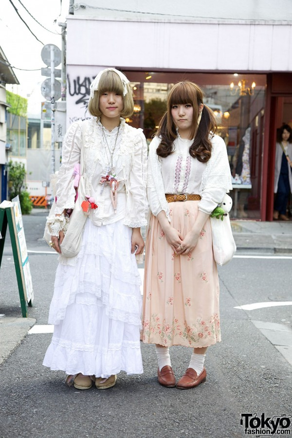 Lace Dolly Kei-influenced Resale Fashion in Harajuku