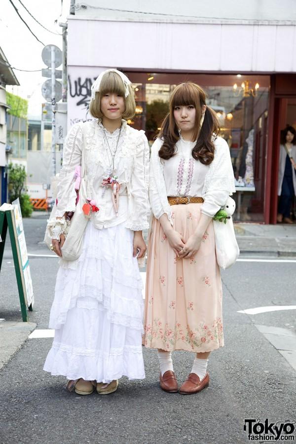 Lace Dolly Kei-influenced Resale Fashion in Harajuku