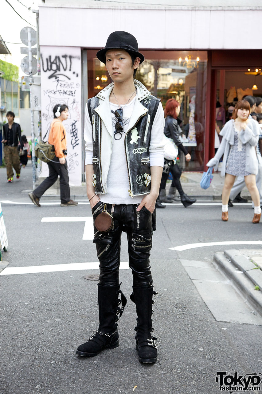 Japanese Guy in BlackMeans Fashion