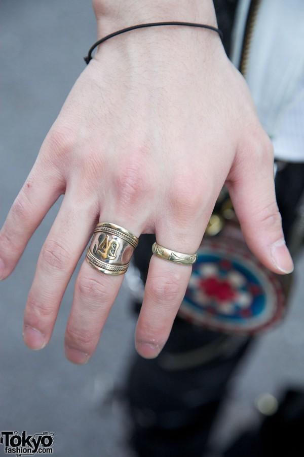 Silver Rings in Harajuku