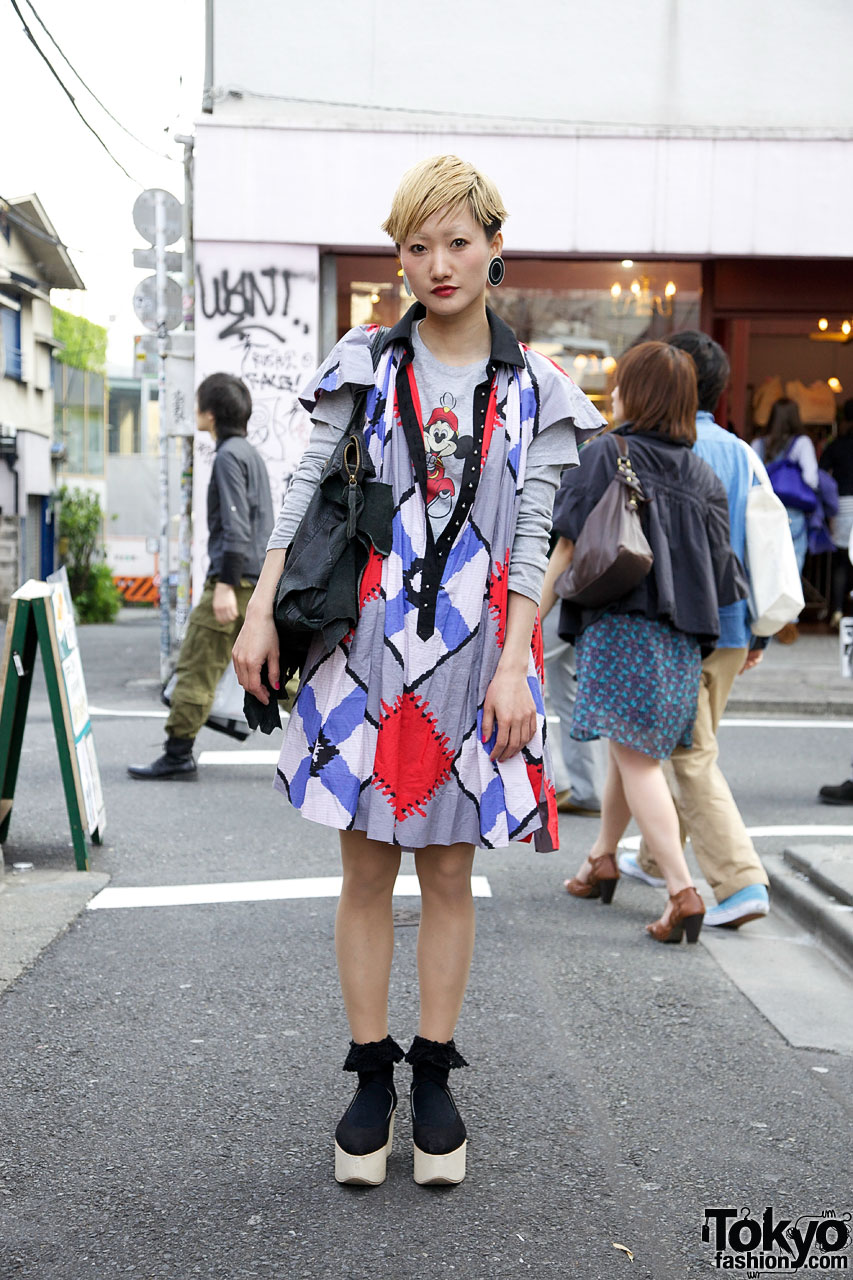 Kinsella Harajuku Staff Street Fashion