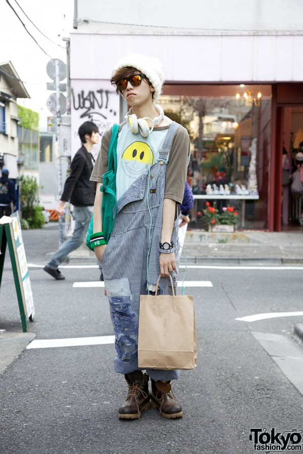 Vintage Overalls in Harajuku