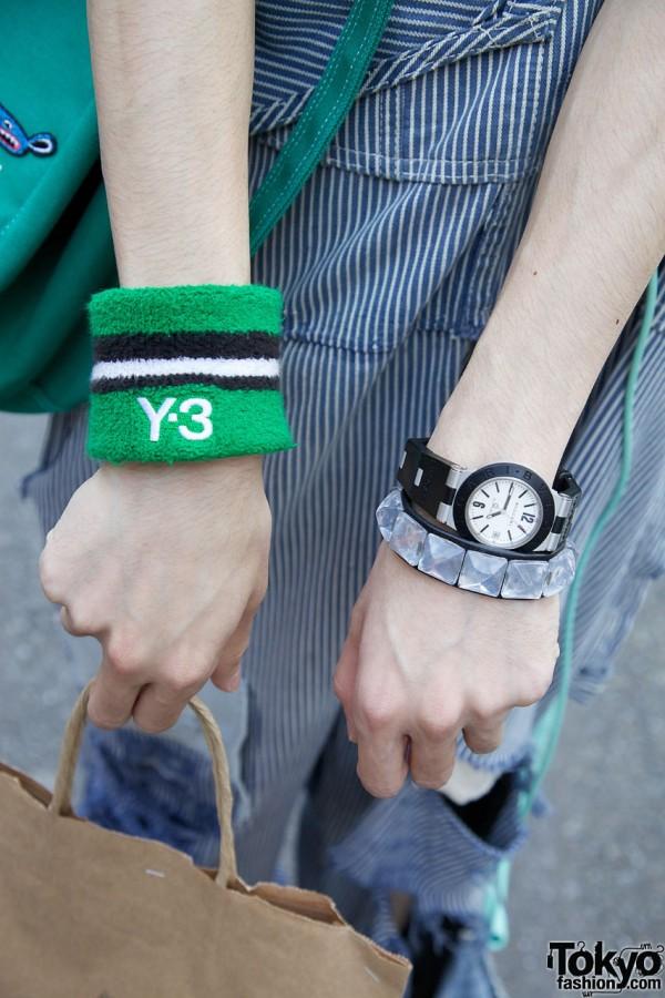 Y-3 Wristband & Bulgari Watch