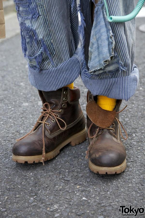 Timberland Boots in Harajuku