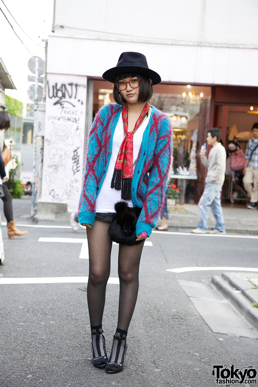 Bubbles Harajuku Guppy In Cardigan Melissa Wedges