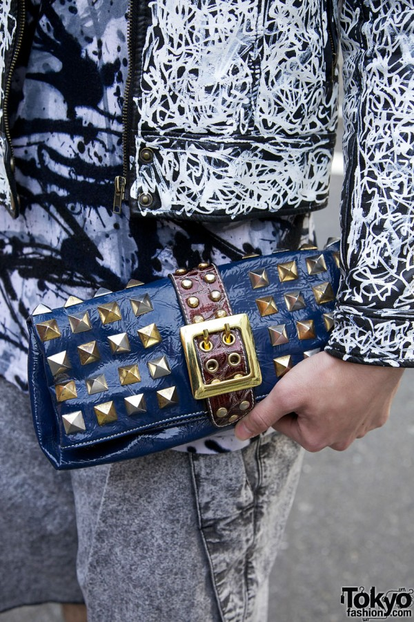 HEXE room Studded Wallet
