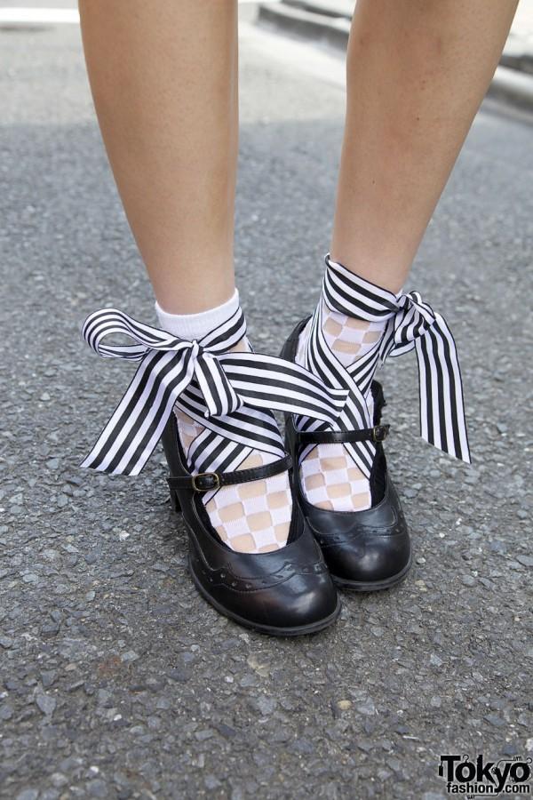 Ribbon Shoes from Haight & Ashbury Tokyo