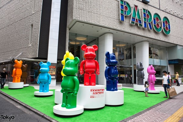 Bearbrick Exhibition at Parco Shibuya