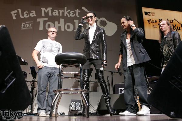 Tokio Hotel at Flea Market for Tohoku