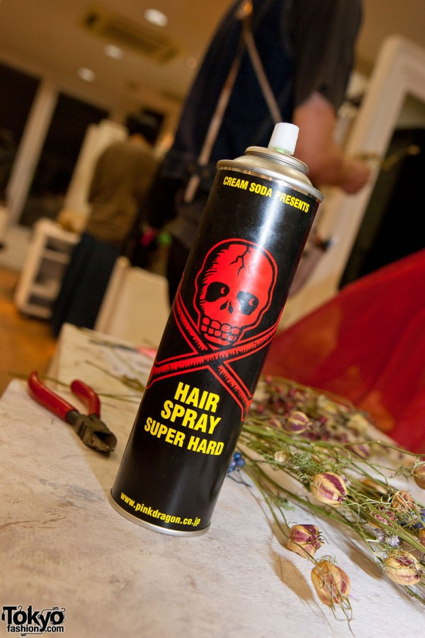 Cream Soda Hair Spray in Japan