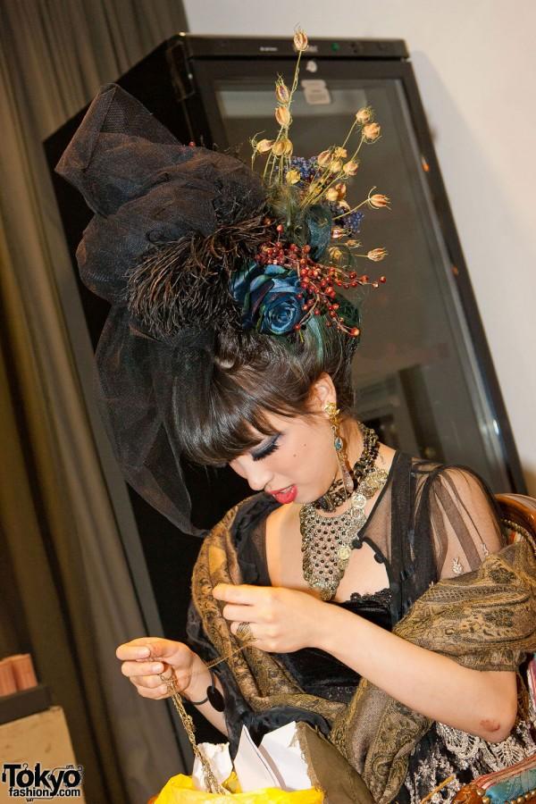 Saki at Bloc de Gemmes hair salon Shibuya