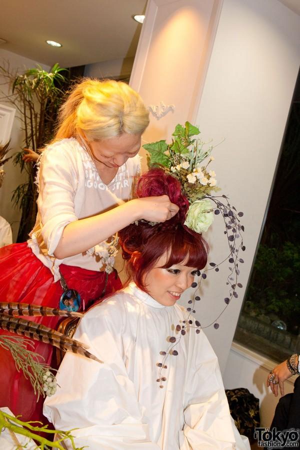 Grimoire Hitomi's Hair Style