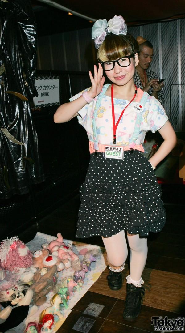 SPANK at Flea Market for Tohoku