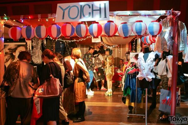Yoichi at Flea Market for Tohoku