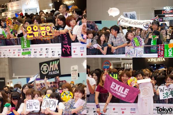 MTV Music Aid Japan Red Carpet Fans