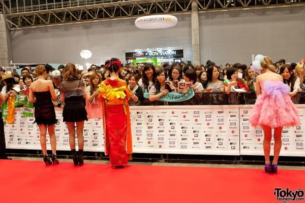 Shibuhara Girls TV Stars at MTV Japan