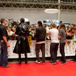 Tokio Hotel Signing Autographs in Japan