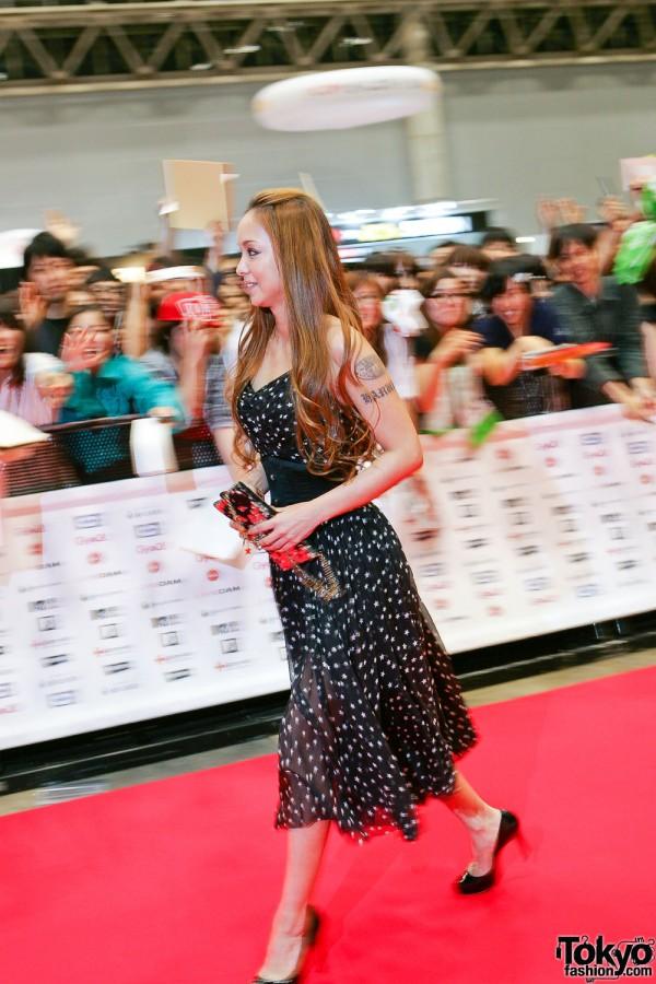 Namie Amuro at MTV Music Aid Japan