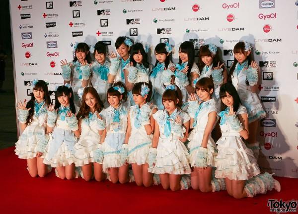 AKB48 at MTV Japan