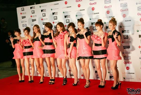 Girls Generation at MTV Japan