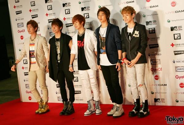 Shinee at MTV Japan