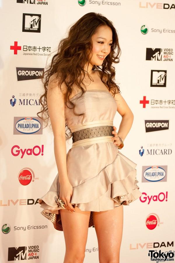 Kana Nishino at MTV Music Aid Japan
