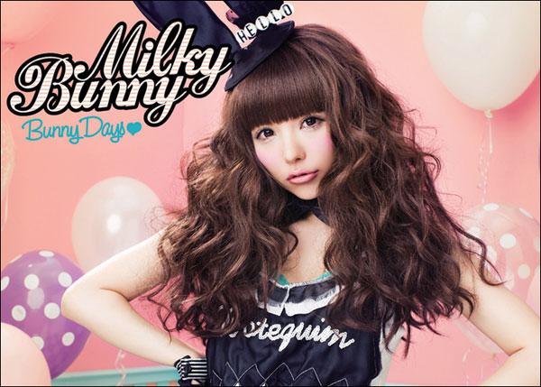 "Milky Bunny ""Bunny Days"" x Spinns Harajuku T-Shirt"