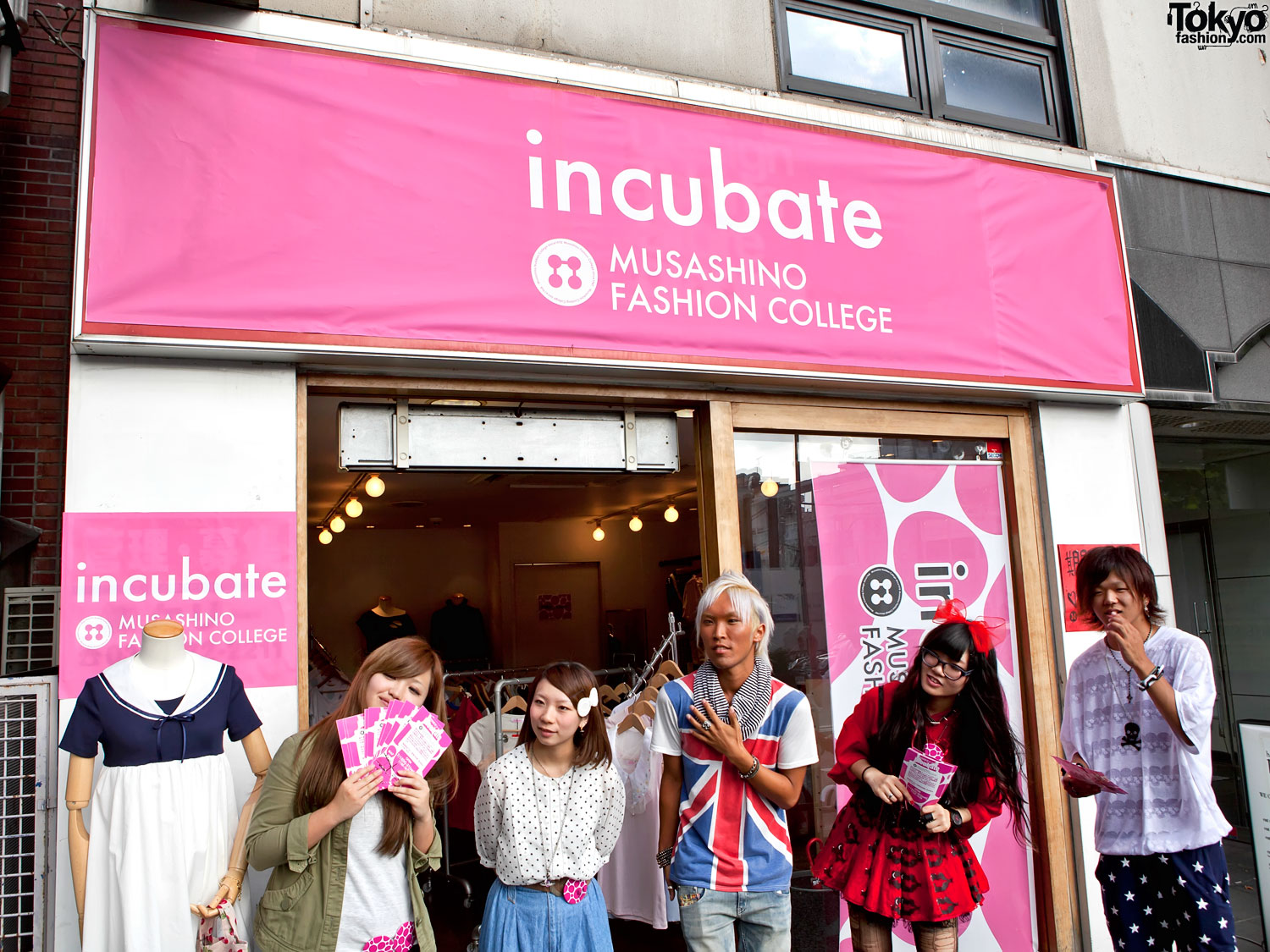 Musashino Fashion College Incubate - Harajuku Popup Shop 2011 f2f1ca54c