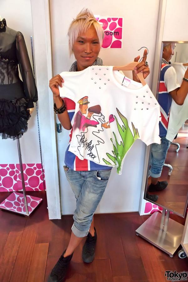Musashino Fashion College Incubate – Harajuku Popup Shop 2011