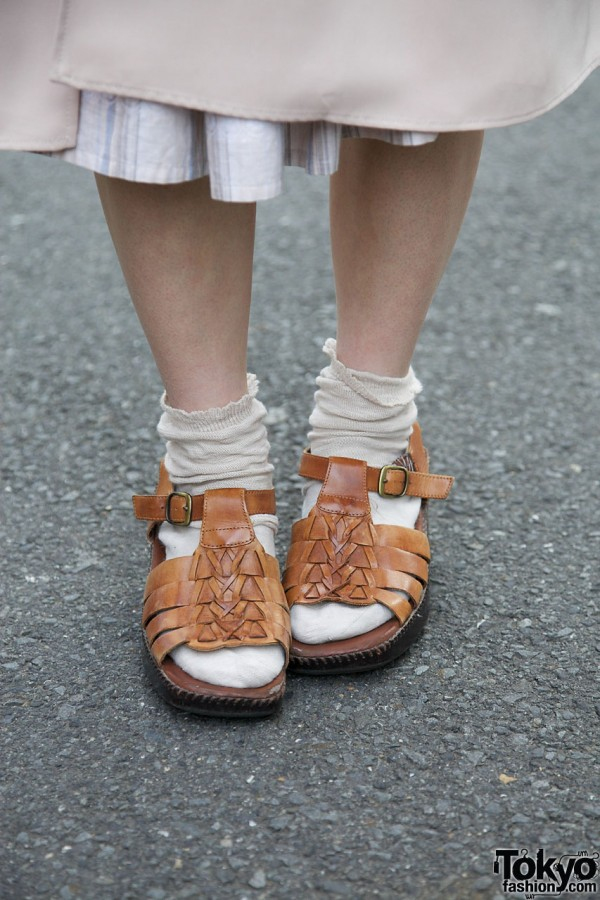 Huarache-style sandals from Hug