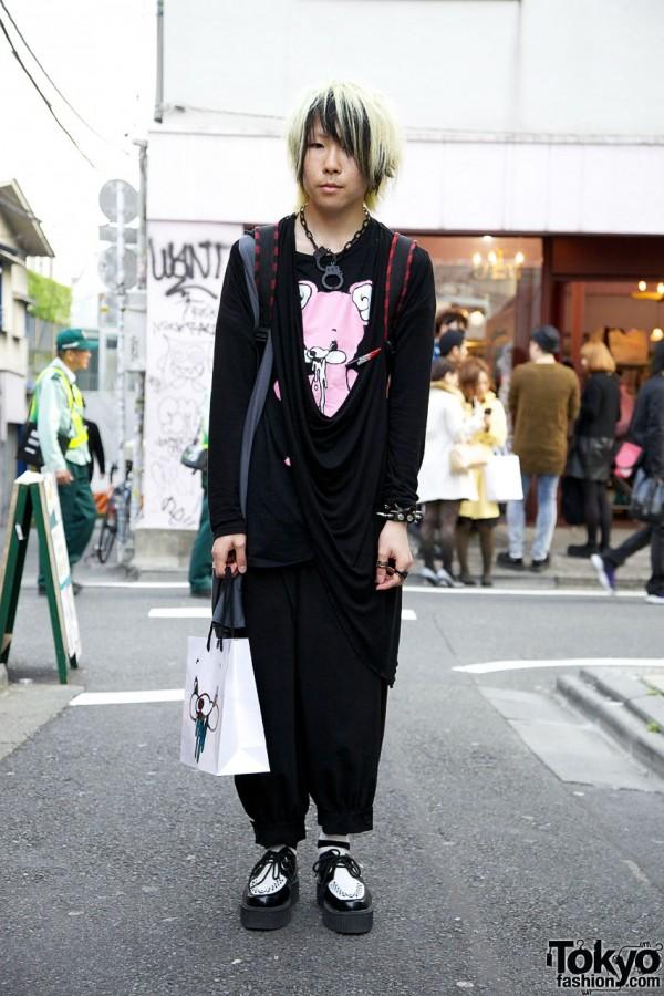 Monomania shirt & Gadget Grow pants in Harajuku