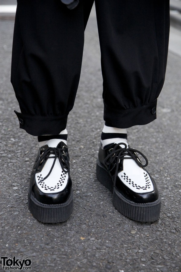 Two-tone socks & shoes from Tuk