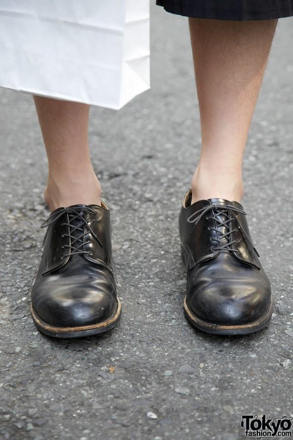 Dress shoes w/o socks