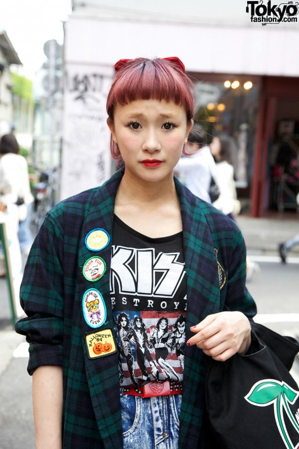 Rock T-shirt in Harajuku
