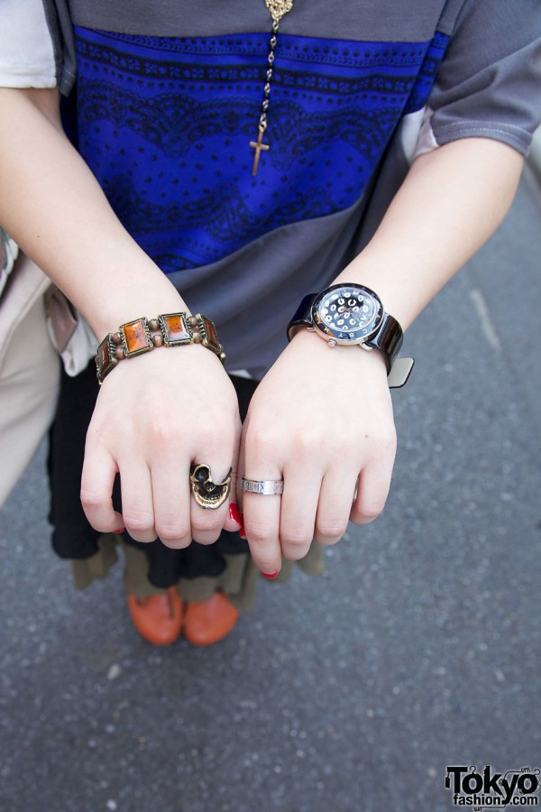 Marc by Marc Jacobs watch & cool rings