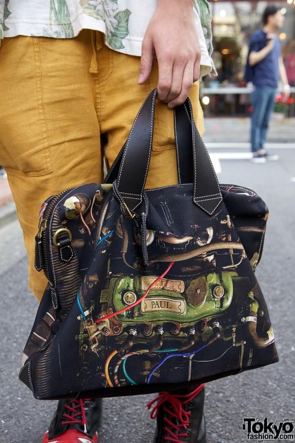 Paul Smith photorealistic satchel