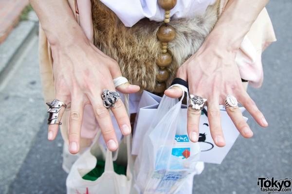 Armor Ring & Silver Rings