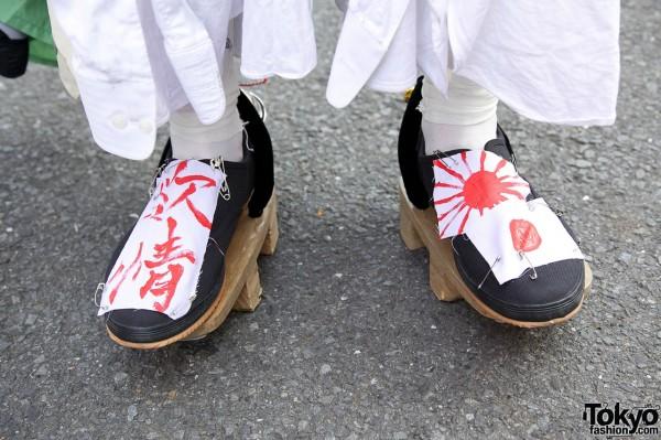 Handmade Japanese Sandals in Harajuku