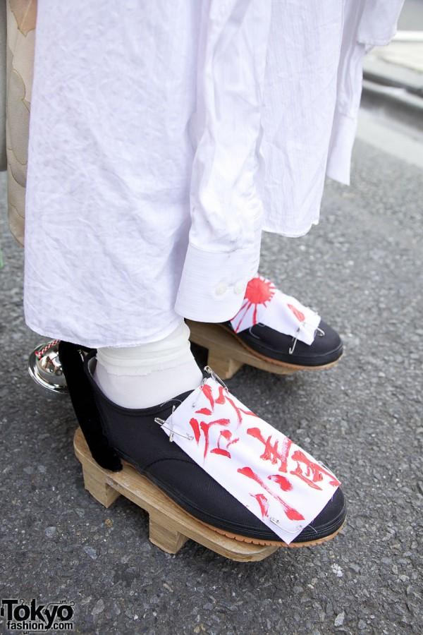 Handmade Sandals in Harajuku