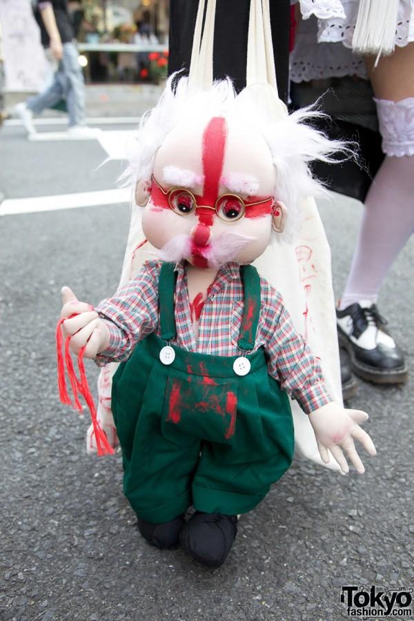 Handmade Doll Bag in Harajuku