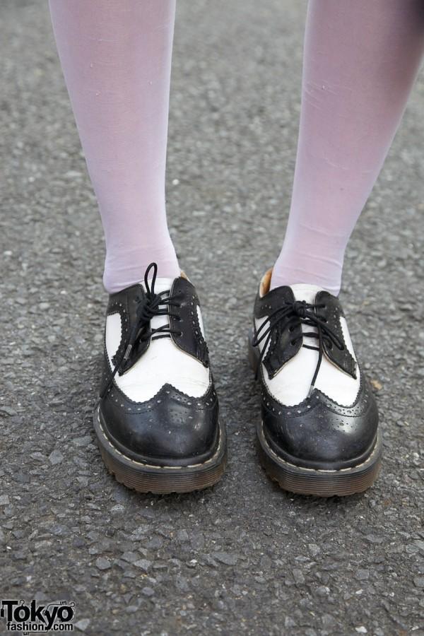 Saddle Shoes & Stockings