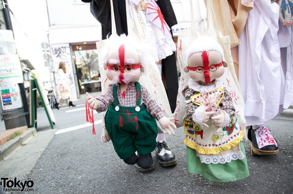 Handmade Dolls x Harajuku Street Fashion