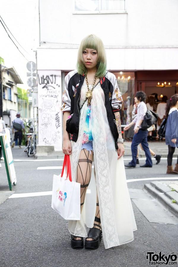 Nachiko from WEGO in Harajuku