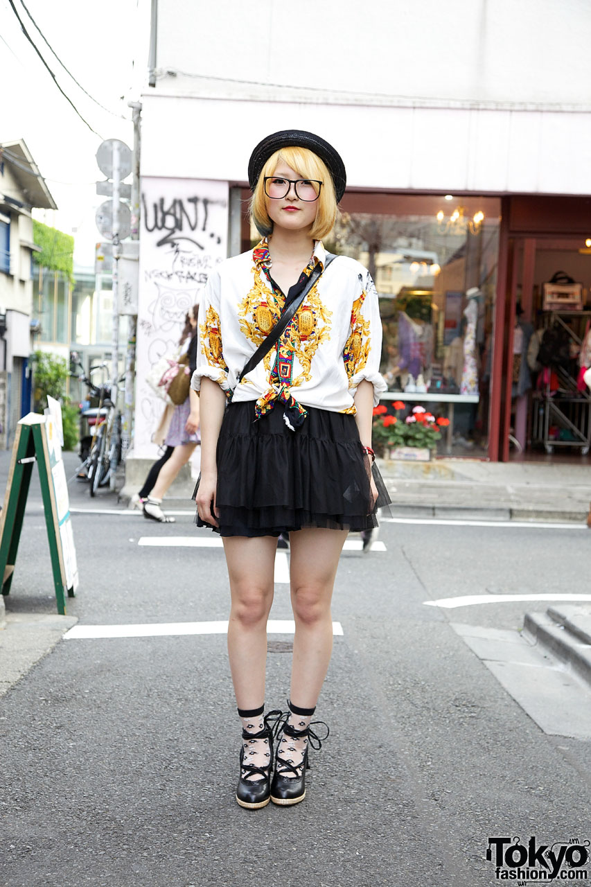 GVGV Tiered Skirt in Harajuku