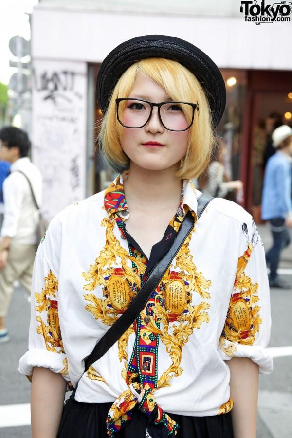 Big Glasses in Harajuku