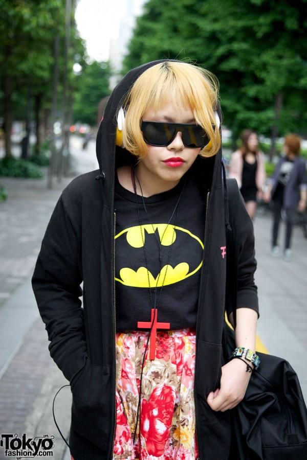 Batman T-Shirt & Hoodie in Shinjuku