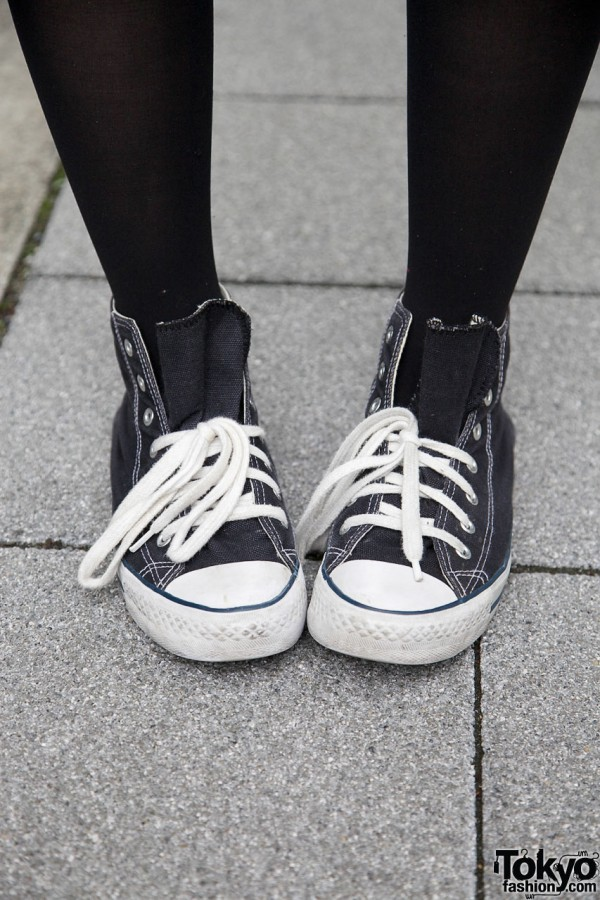 amp; amp; Sneakers Converse Sneakers Sneakers Converse amp; Stockings Black Black Black Stockings Converse O6gAOvqY