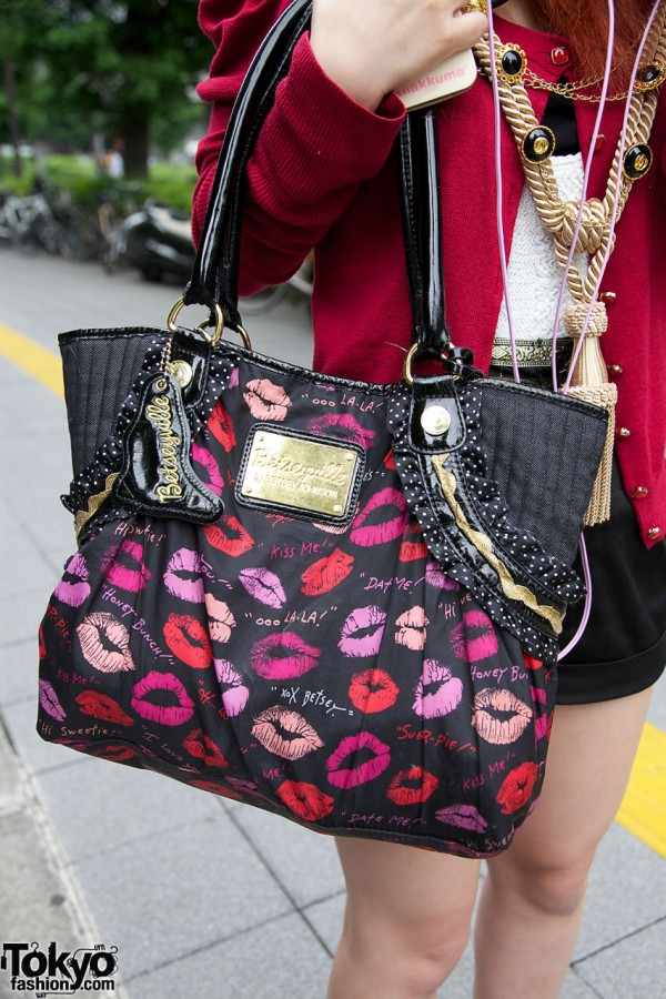 Betsey Johnson Betseyville purse